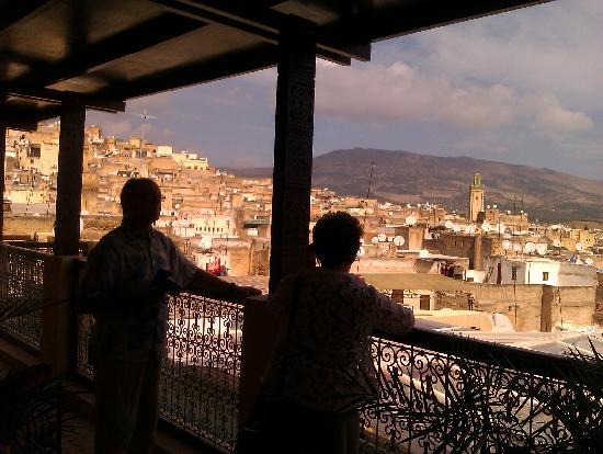 Riad-Boutique Borj Dhab Fès : roof terrace views