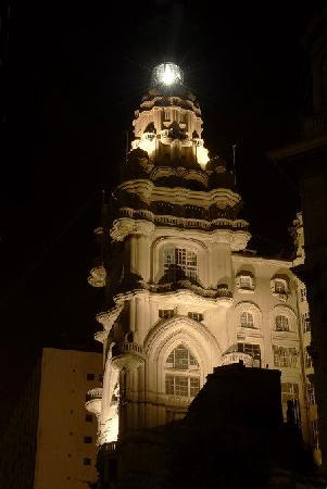 Palacio Barolo (Palazzo Barolo): con faro y yo arriba tambien
