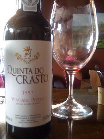 Back Bistro: Great Port Wine