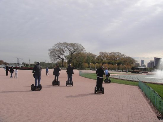 Steve's Segway Tours: By Buckingham Fountain