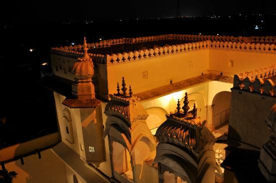 Fort Barli: Majestic illuminated arches of the fort