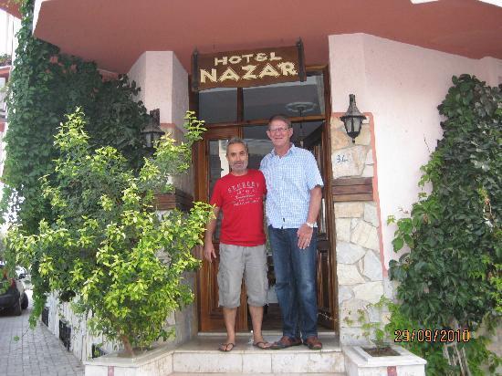 Hotel Nazar: Osman and me!