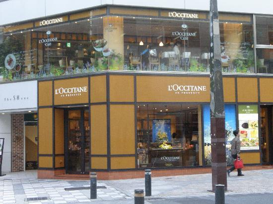 Hotel Resol Ikebukuro: L'occitane shop with cafe on the 2nd floor