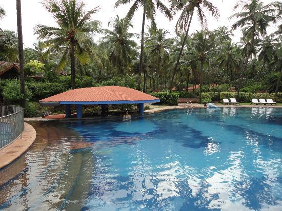 Taj Holiday Village Resort & Spa: Pool and bar