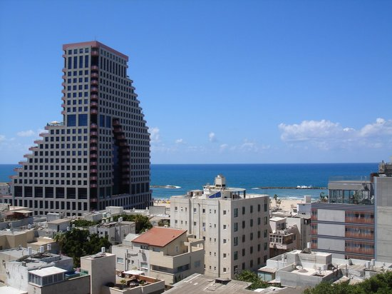 Mercure Tel-Aviv City Center: Вид на море