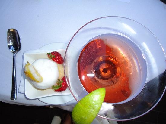 lemon sorbetto - Picture of Cafe Milano, Washington DC - TripAdvisor