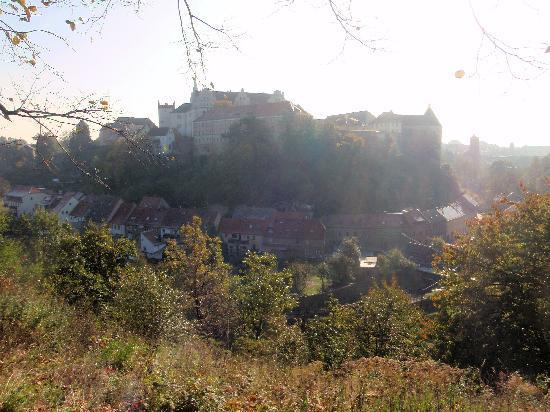 Alte Gerberei: Blick auf Bautzen vom Protschenberg