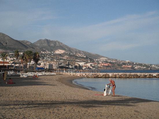 Hotel Las Palmeras: beach aera