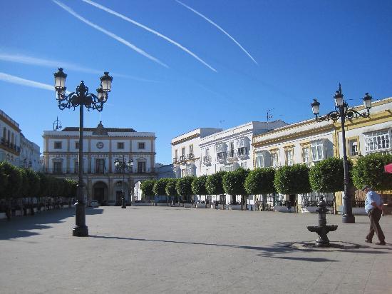 Medina-Sidonia, Hiszpania: Plaza de la Libertad/Marktplatz