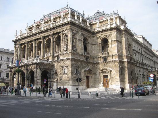 Budapeşte, Macaristan: Opera House