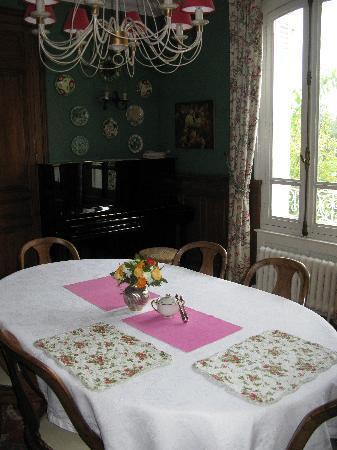 La Liniere: Breakfast room