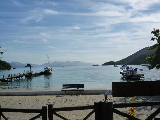 Pousada Recreio da Praia : View from the breakfast.