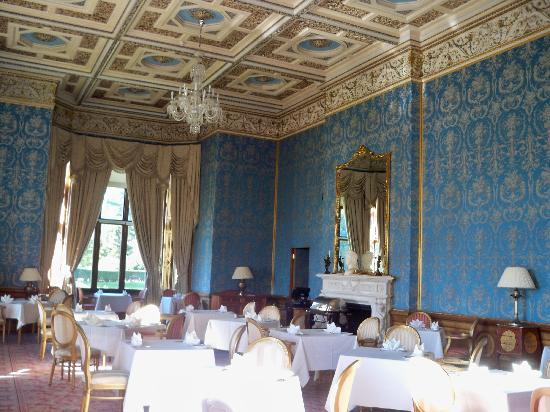 Blue Room Thoresby Hall