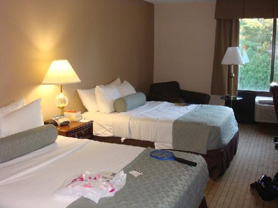 Days Inn Horsham Philadelphia: Spacious rooms