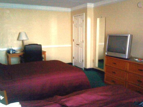 Regency Inn: 2 Double Bed room, TV & closet