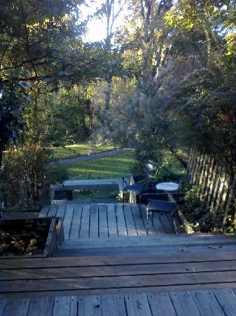 Steiger Haus: Our deck