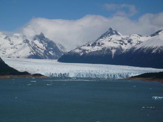 El Calafate, Argentina: Glaciar Perito Moreno, desde lejos