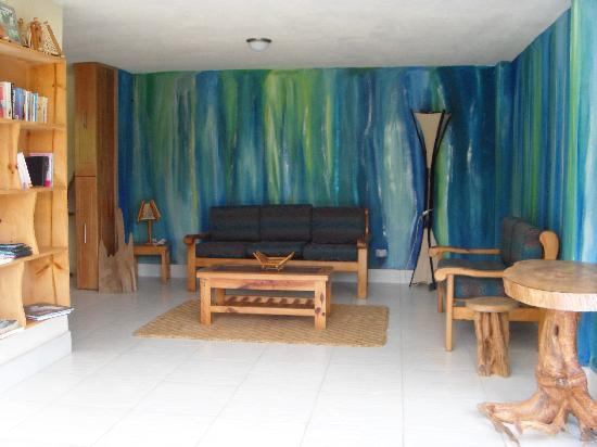 Yurapamba Jungle Resort: Relaxing sitting area