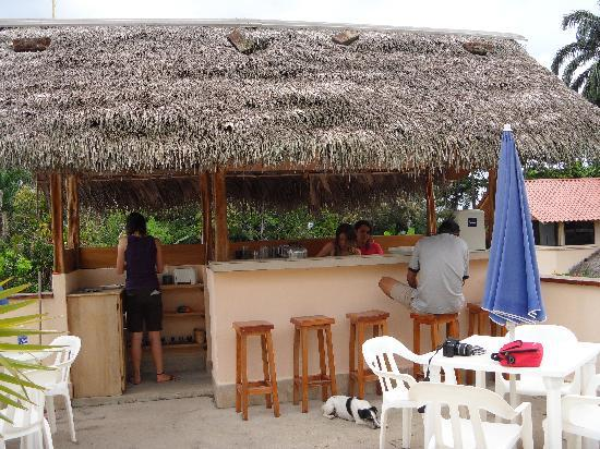 Yurapamba Jungle Resort: Breakfast area