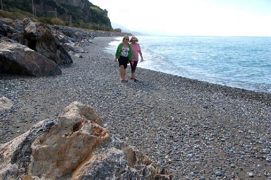 Zilema Hotel : Beach at Guardia Piemontese Marina