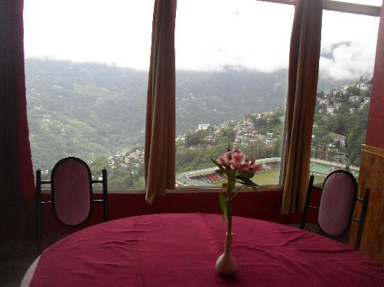 Hotel Mayur: the view from the restaurant