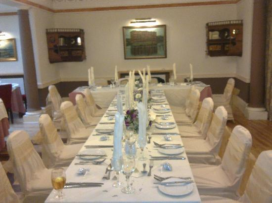 Best Western Lairgate Hotel: Table Setting