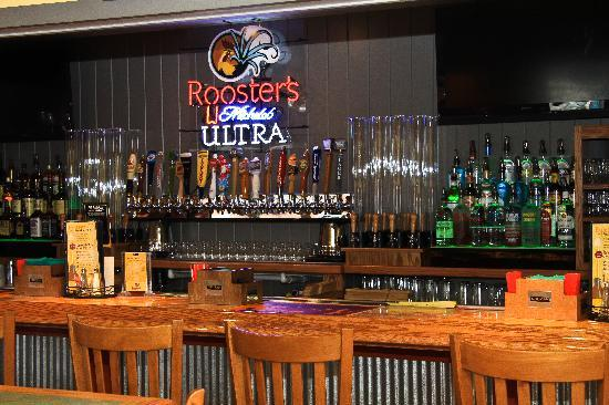 Rooster's Coal Fired Pizza & Tap House: Rooster's Tap House - Complete with 20 beers on tap