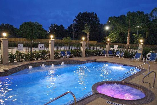Holiday Inn Express Hotel & Suites Houston NW-Beltway 8-West Road: Pool and Jucuzzi