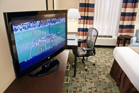 Holiday Inn Express Hotel & Suites Houston NW-Beltway 8-West Road: 37 Inch HDTVs in each room