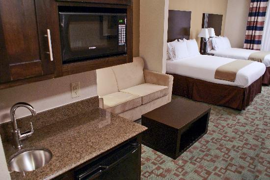 Holiday Inn Express Hotel & Suites Houston NW-Beltway 8-West Road: Wet Bar in each Suite