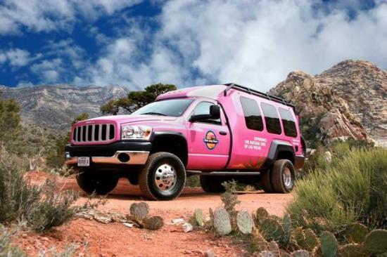 Pink Jeep Tours Las Vegas : Luxurious but Rugged Tour Trekker