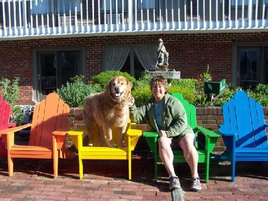 Surfside Hotel & Suites: Me and my dog Jake