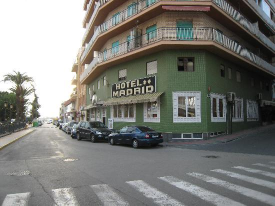 Hotel Madrid - Aguilas, Spain
