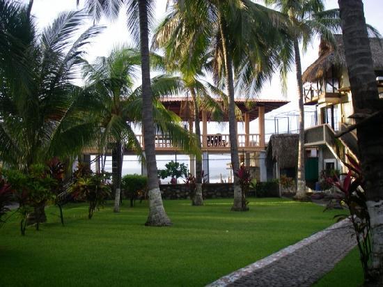 El Zonte, El Salvador: 中庭