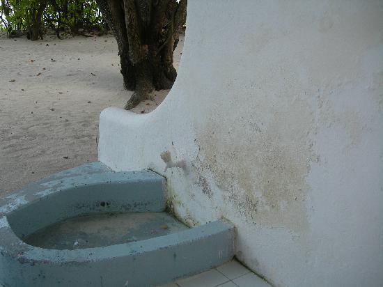 Giravaru Resort: terrasse