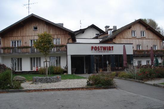 Landhotel Postwirt: das Hotel von außen