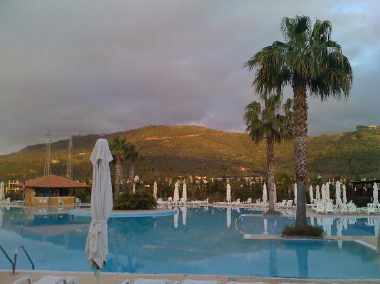 La piscine et le restaurant photo de club med napitia for Restaurant piscine