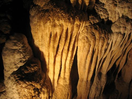 Blue Ridge, Βιρτζίνια: Inside Luray cavern's