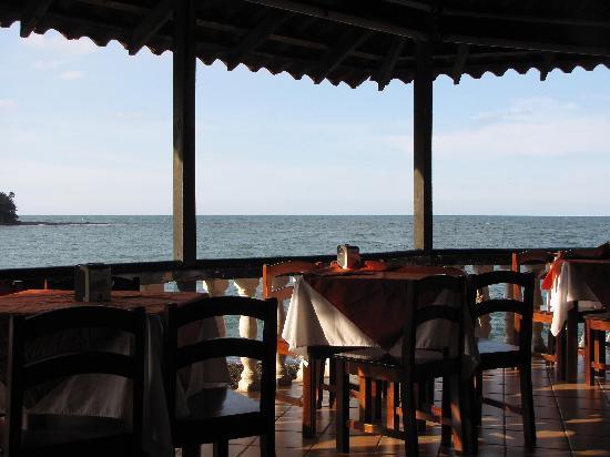 Hotel Playa Bonita: Vista desde el restaurant