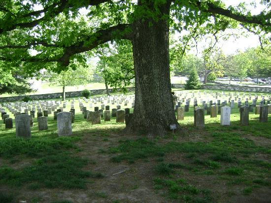 Cemetary in Gettysburg park