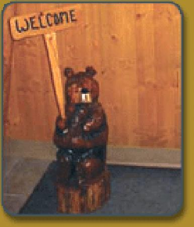 Lazy Bear Lodge: You are always welcome.