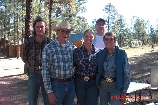 Geronimo Trail Guest Ranch: The wonderful staff.