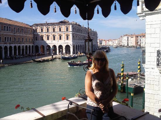 Al Ponte Antico Hotel: On The Terrace