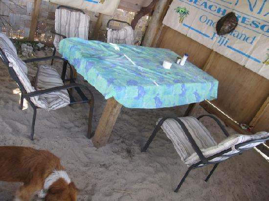 Kenia Resort: The dining room