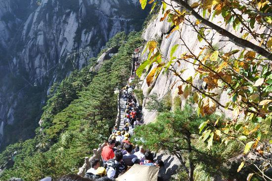 Mt. Huangshan (Yellow Mountain): enjoying nature...