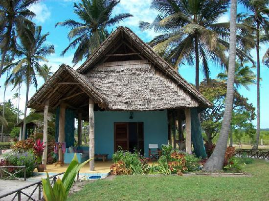 Butiama Beach: The bungalow we stayed in