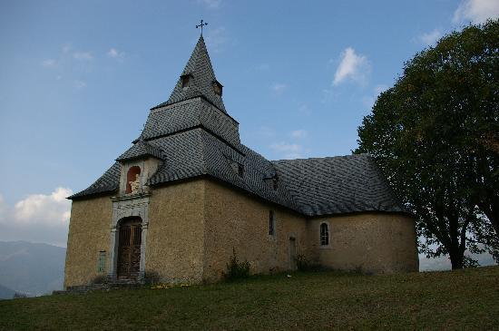 Les Rochers Hotel : Kapel van Saint Savin