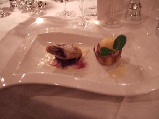 Lech, Austria: Abendessen
