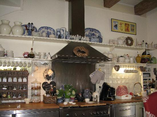 Aemstelhuys Bed & Breakfast: cucina