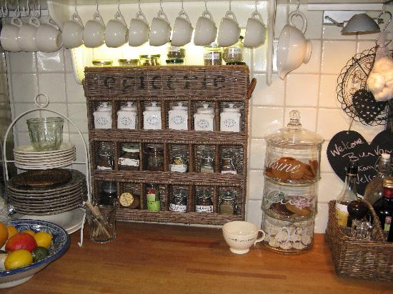 Aemstelhuys Bed & Breakfast: dettagli cucina